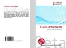 Copertina di Reaction Intermediate