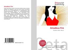 Copertina di Amadeus Fire