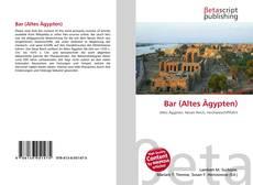 Portada del libro de Bar (Altes Ägypten)