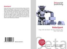 Capa do livro de RoboSport