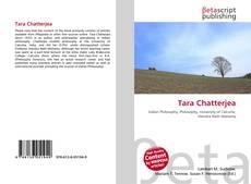 Capa do livro de Tara Chatterjea