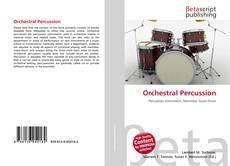 Bookcover of Orchestral Percussion