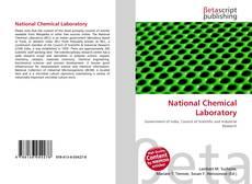 Borítókép a  National Chemical Laboratory - hoz