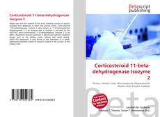 Bookcover of Corticosteroid 11-beta-dehydrogenase Isozyme 2