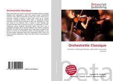 Portada del libro de Orchestrette Classique