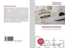 National Certificate的封面