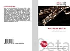 Copertina di Orchestre Stukas