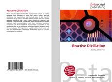 Couverture de Reactive Distillation