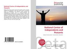 Bookcover of National Centre of Independents and Peasants