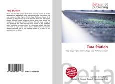 Buchcover von Tara Station