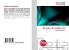 Buchcover von Reactive Lymphocyte