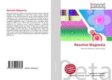 Reactive Magnesia的封面
