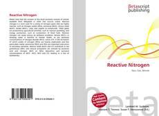 Reactive Nitrogen的封面