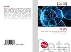 Bookcover of COX15