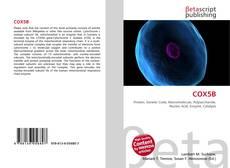 Bookcover of COX5B