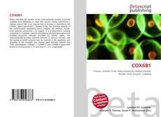 Bookcover of COX6B1