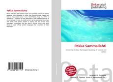 Обложка Pekka Sammallahti