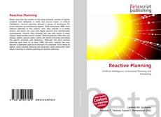 Couverture de Reactive Planning