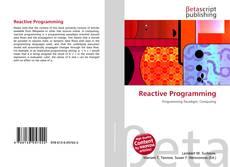 Reactive Programming的封面