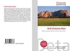 Bookcover of Ord Victoria Plain