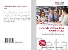 Copertina di University of Hong Kong Faculty of Law