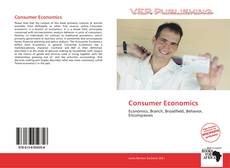 Bookcover of Consumer Economics