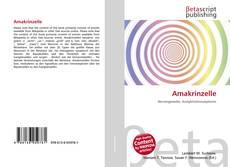 Buchcover von Amakrinzelle