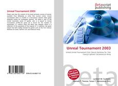 Borítókép a  Unreal Tournament 2003 - hoz