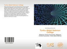 Capa do livro de Tunku Abdul Rahman College