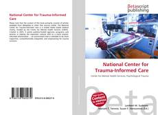 Capa do livro de National Center for Trauma-Informed Care