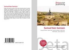 Bookcover of Samuel ben Samson