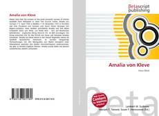 Buchcover von Amalia von Kleve