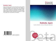 Bookcover of Robledo, Spain