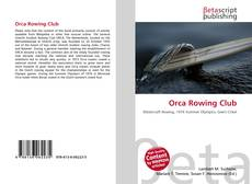Capa do livro de Orca Rowing Club