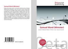 Portada del libro de Samuel Ward (Minister)