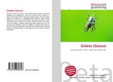 Capa do livro de Goleta (Genus)