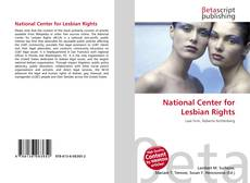 Bookcover of National Center for Lesbian Rights