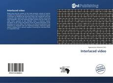 Bookcover of Interlaced video