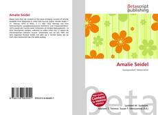 Borítókép a  Amalie Seidel - hoz