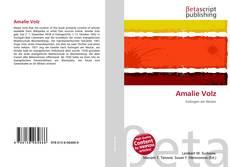 Couverture de Amalie Volz