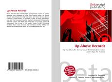 Bookcover of Up Above Records