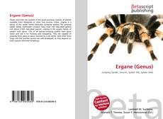 Capa do livro de Ergane (Genus)