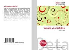 Buchcover von Amalie von Gallitzin