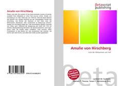 Обложка Amalie von Hirschberg