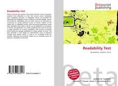 Readability Test的封面