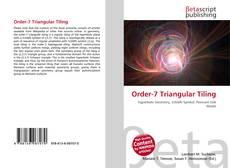 Bookcover of Order-7 Triangular Tiling
