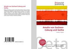 Bookcover of Amalie von Sachsen-Coburg und Gotha