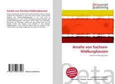 Bookcover of Amalie von Sachsen-Hildburghausen