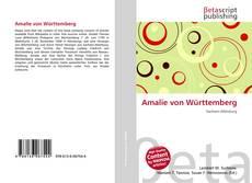 Bookcover of Amalie von Württemberg