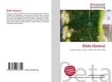 Capa do livro de Efate (Genus)